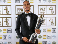 Ван Дейк — Игрок Года по версии PFA в 2019