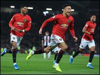 Тройка нападения Манчестер Юнайтед