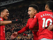 Трио нападающих Манчестер Юнайтед
