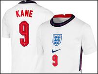 Новая форма сборной Англии