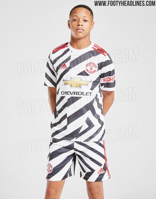 Третья форма Манчестер Юнайтед