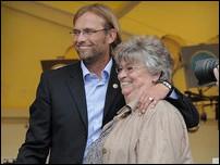 Юрген Клопп с мамой