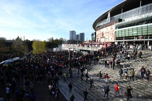 Акция протеста фанатов Арсенала