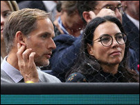 Томас Тухель с женой Сисси