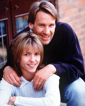 Пол Мерсон с бывшей женой Лоррейн