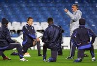 Челси готовится к матчу против Левски